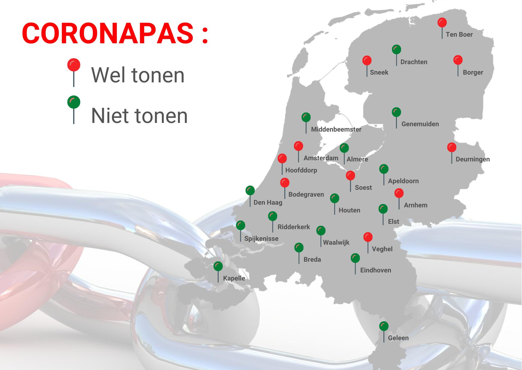 coronapas per locatie in nederland combikr8 veiligheid opleidingen BHV VCA Logistiek